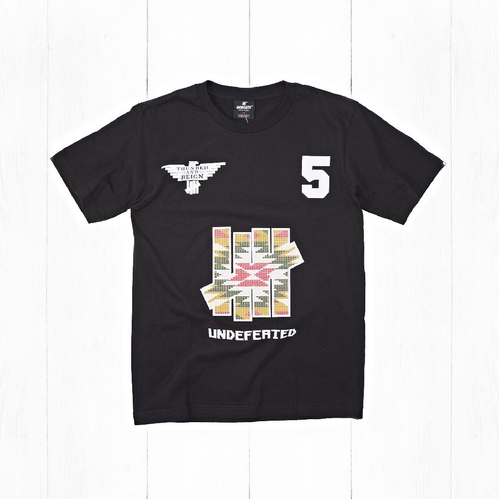 Футболка Undefeated PLAINS TEE Black