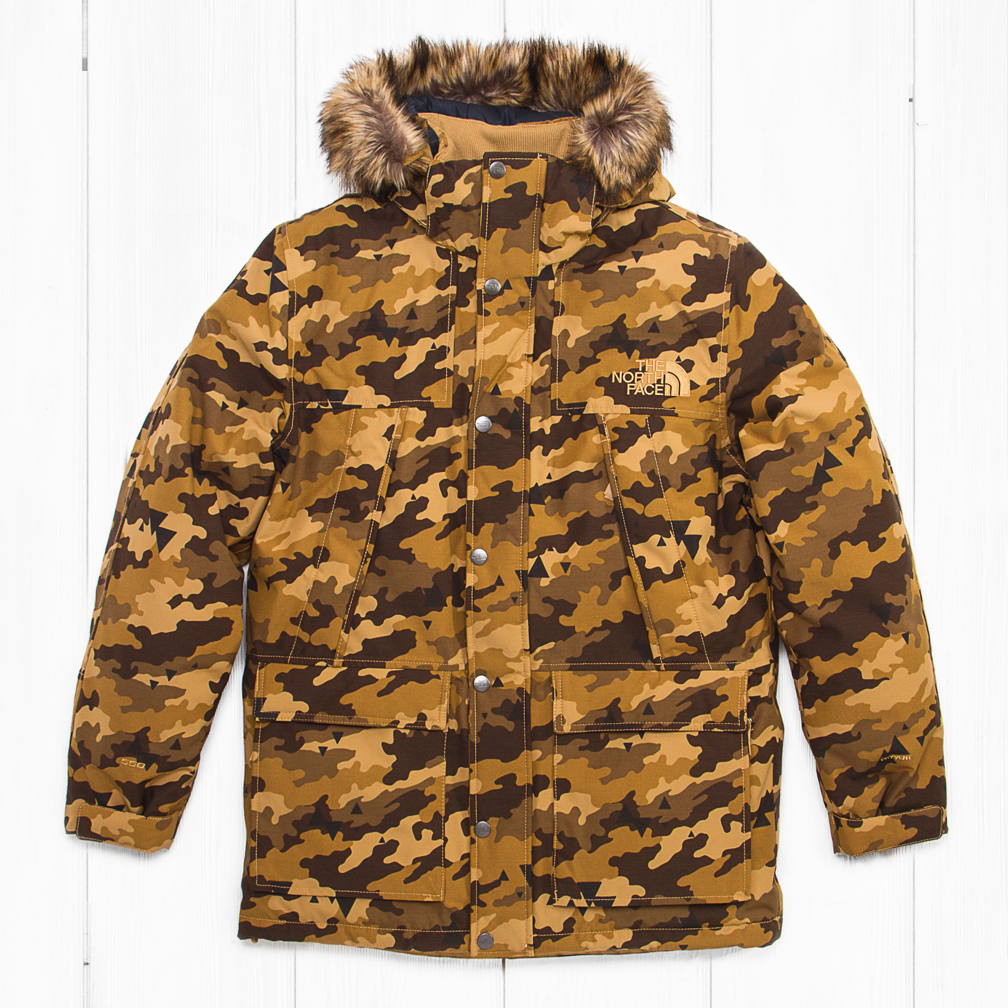 Парка The North Face MNT MURDO BAY Dijon Camo Brown