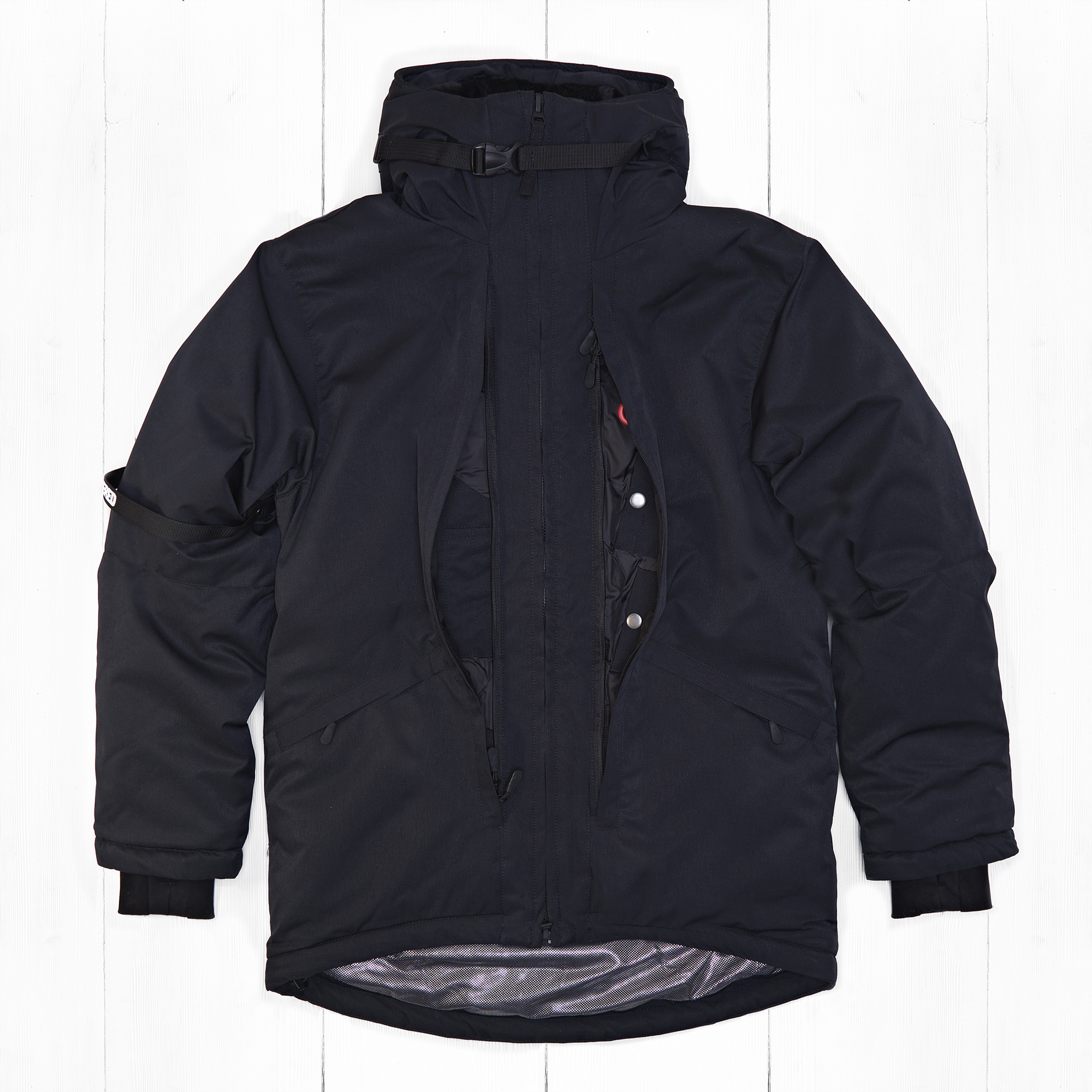 Куртка INNER CITY 2 COR Black Membrane