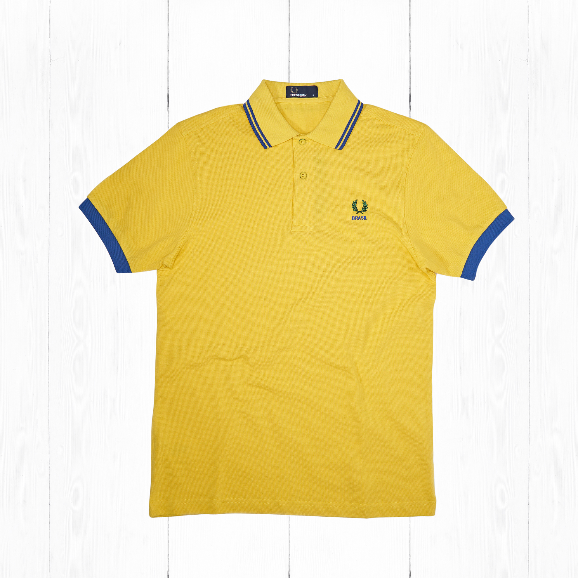 Поло Fred Perry COUNTRY SHIRT BRASIL Yellow