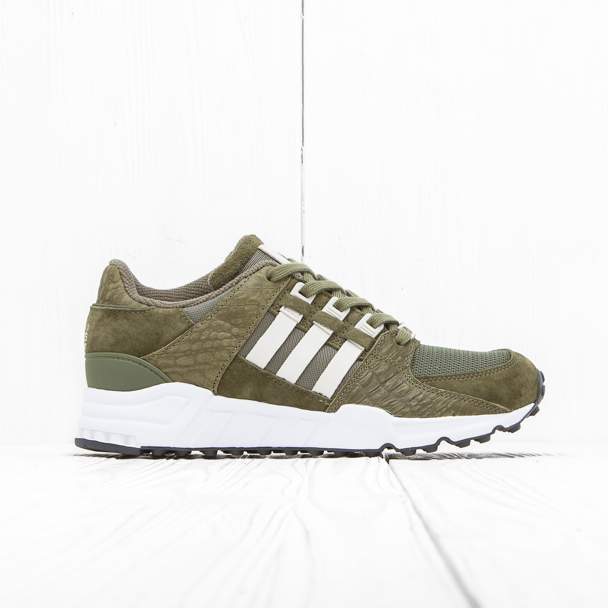 Кроссовки Adidas EQUIPMENT RUNNING S Olive Cargo/Clea Brown/Ftwr White