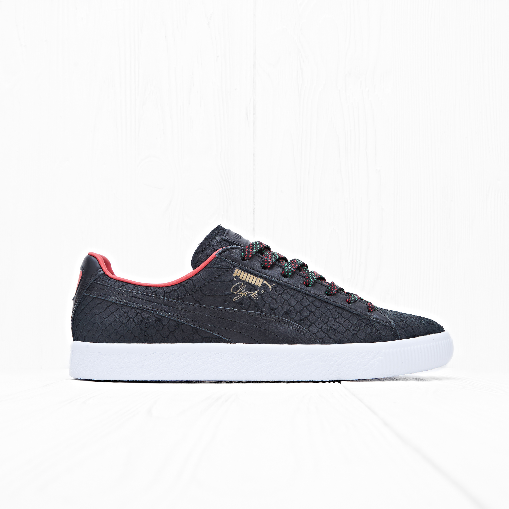 Кроссовки Puma CLYDE GCC Puma Black-High Risk