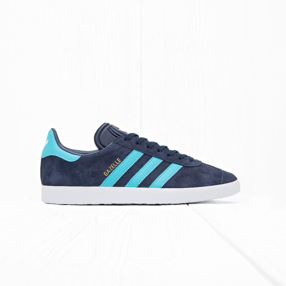 Кроссовки Adidas GAZELLE Legend Ink S10/Energy Blue S17/Ftwr White
