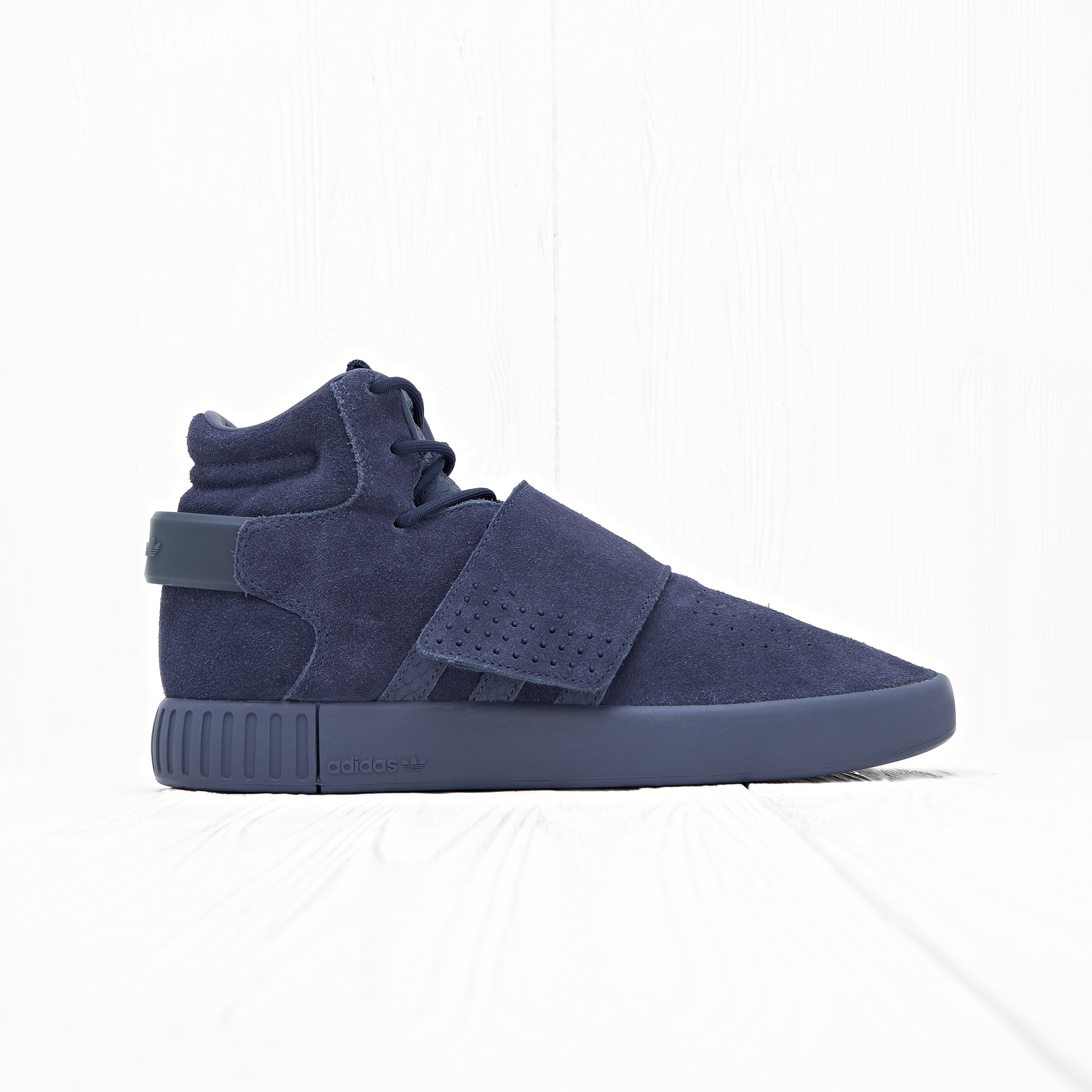 Кроссовки Adidas TUBULAR INVADER STRAP Trace Blue/Trace Blue/Footwear White
