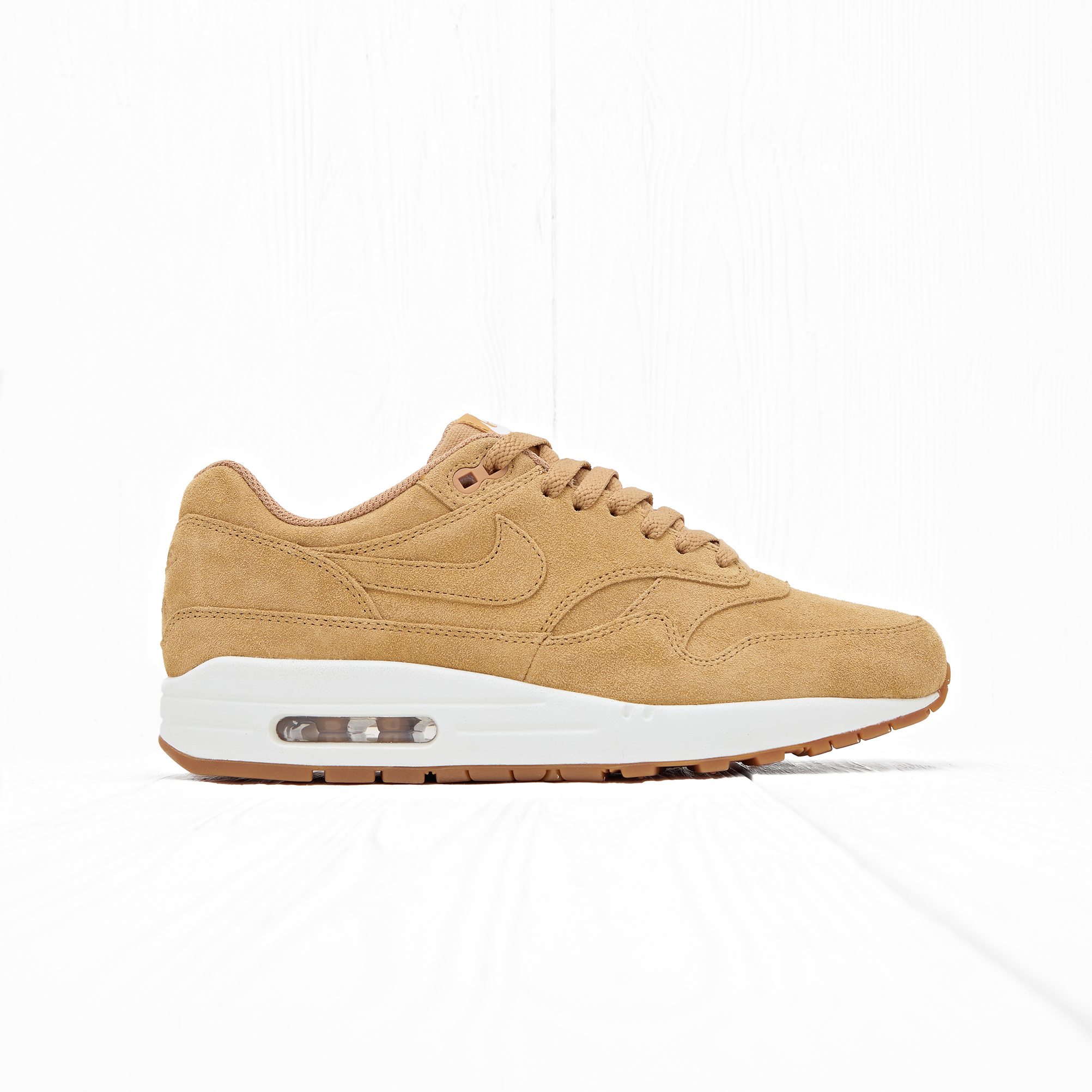 Кроссовки Nike AIR MAX 1 PRM (FLAX) Flax/Flax-Sail-Gum Medium Brown