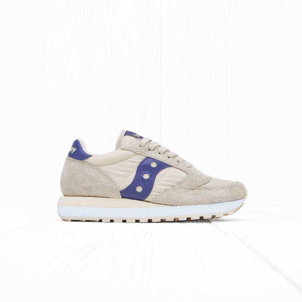 Кроссовки Saucony W JAZZ ORIGINAL Cream/Purple