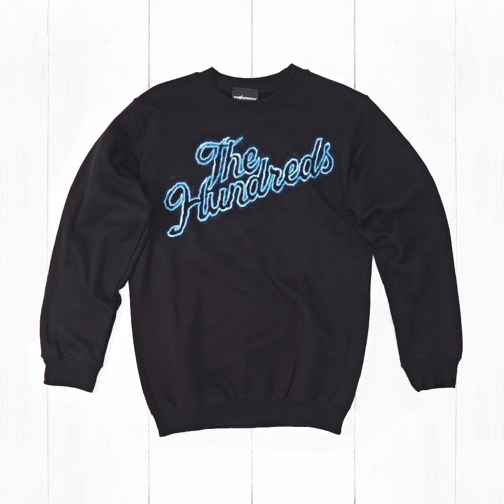 Свитшот The Hundreds THUNDER SLANT Black