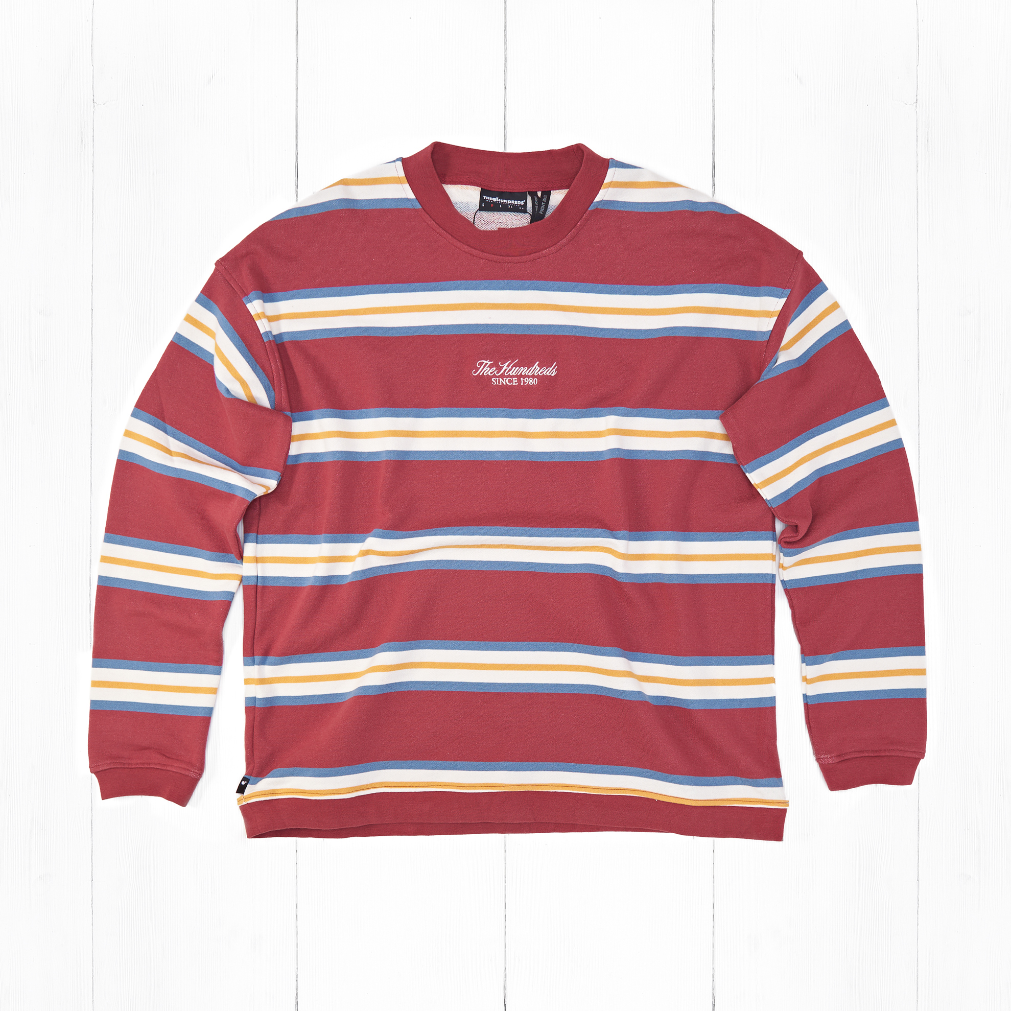 Свитшот The Hundreds CANYON Burgundy