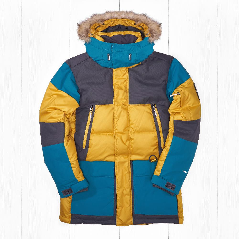 Парка The North Face VOSTOK Leopard Yellow
