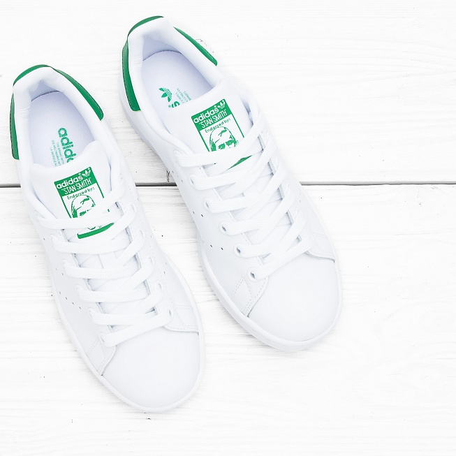 Кроссовки Adidas STAN SMITH Running White/Running White/Fairway - Фото 3