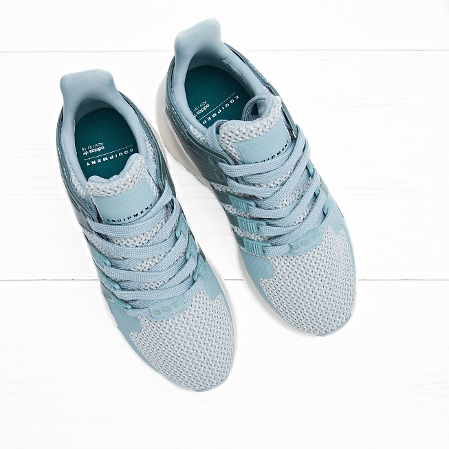 Кроссовки Adidas W EQUIPMENT SUPPORT ADV Tactile Green/Tactile Green/Off White - Фото 3