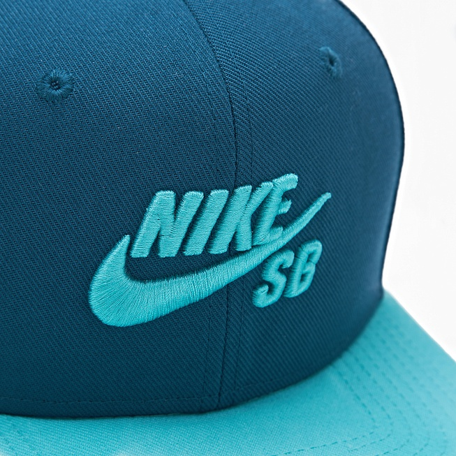 Бейсболка Nike SB ICON Teal/Light Retro/Black/Light Retro - Фото 1