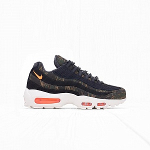 Кроссовки Nike x Carhartt WIP AIR MAX	95 Black/Total Orange-Sail