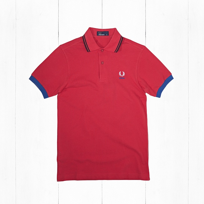 Поло Fred Perry COUNTRY SHIRT RUSSIA Red