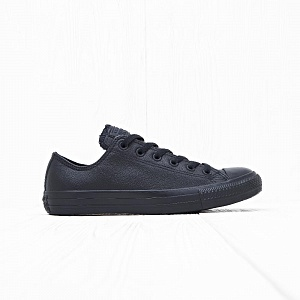 Кеды Converse CHUCK TAYLOR ALL STAR LOW Leather Black Monochrome