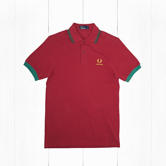 Поло Fred Perry COUNTRY SHIRT PORTUGAL Red