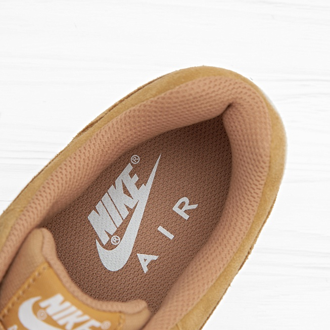 Кроссовки Nike AIR MAX 1 PRM (FLAX) Flax/Flax-Sail-Gum Medium Brown - Фото 4