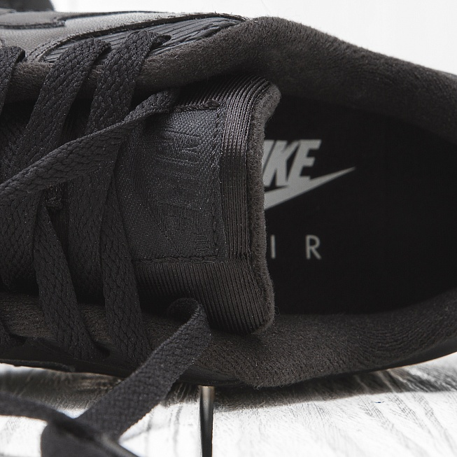 Кроссовки Nike AIR MAX 90 LEATHER Triple Black - Фото 5