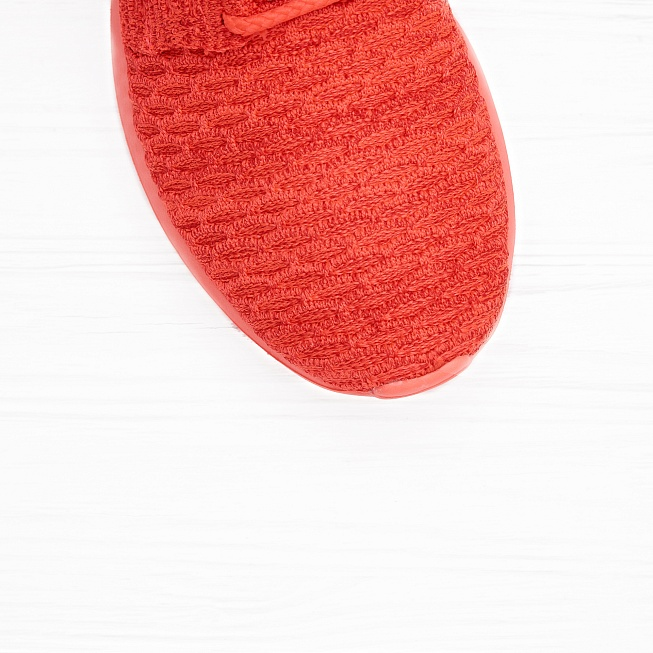Кроссовки Nike ROSHE NM FLYKNIT Bright Crimson/White-University Red - Фото 4