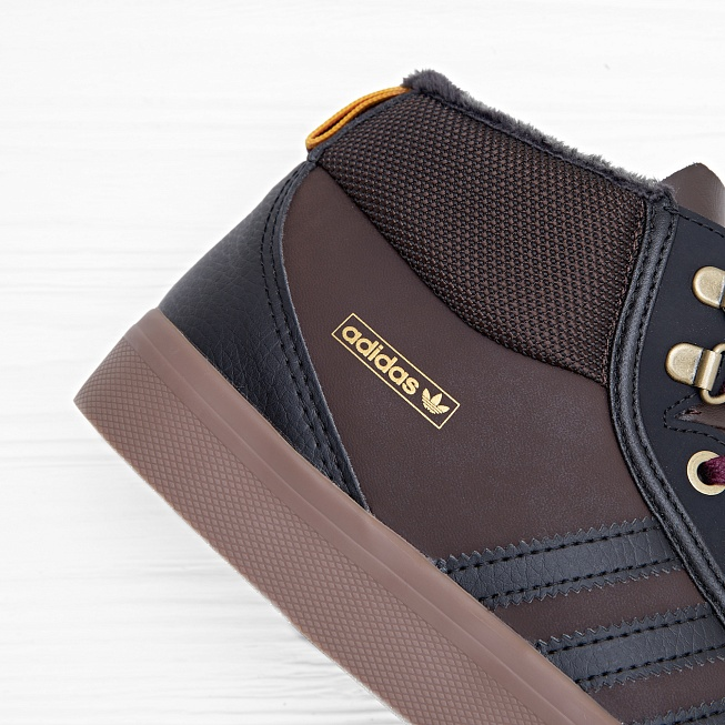 Кеды Adidas ADI-TREK Brown/Black/Light Maroon - Фото 4