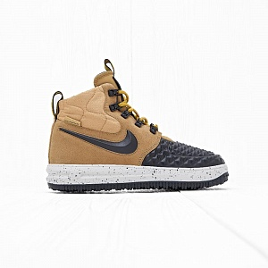 Кроссовки Nike LF1 DUCKBOOT 17 (GS) Metallic Gold/Light Bone-Black
