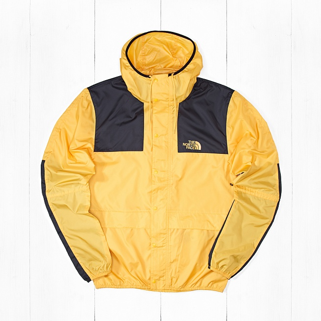 Куртка The North Face 1985 MNT JKT Yellow Black