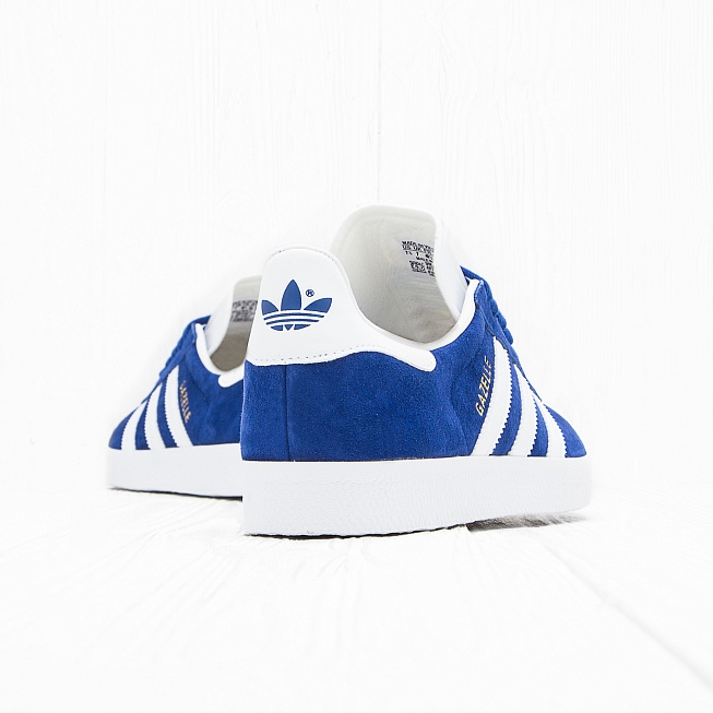 Кроссовки Adidas GAZELLE Collegiate Royal/Off White/Gold Met - Фото 2
