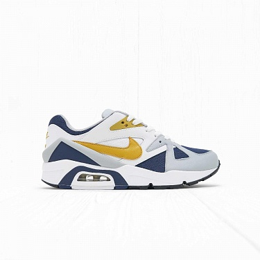 Кроссовки Nike AIR STRUCTURE TRIAX 91 White/Navy Citron