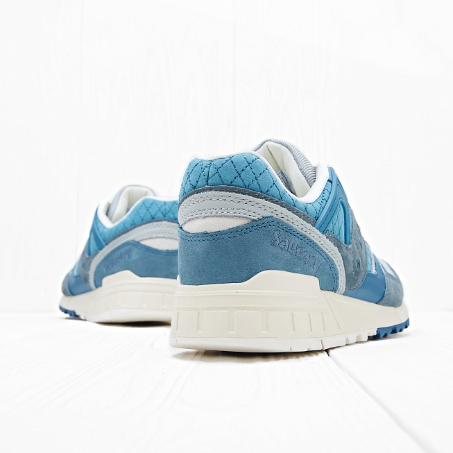 Кроссовки Saucony GRID SD Quilted Blue/Grey - Фото 2