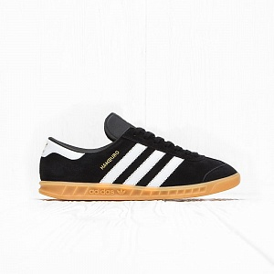 Кроссовки Adidas HAMBURG Core Black/Ftwr White/Gum 2