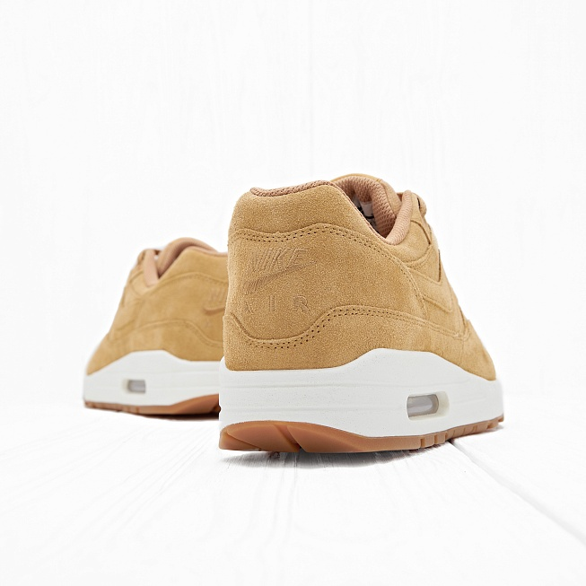 Кроссовки Nike AIR MAX 1 PRM (FLAX) Flax/Flax-Sail-Gum Medium Brown - Фото 3