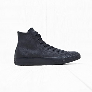 Кеды Converse CHUCK TAYLOR ALL STAR LEATHER HI Black Mono