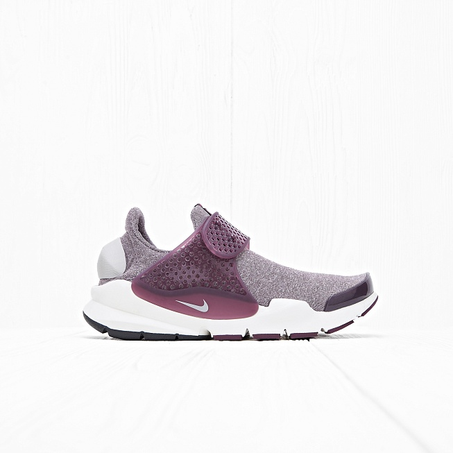 Кроссовки Nike W SOCK DART SE Night Maroon/Sail/Light Iron Ore