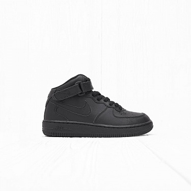 Кроссовки Nike AIR FORCE 1 MID (PS) Triple Black