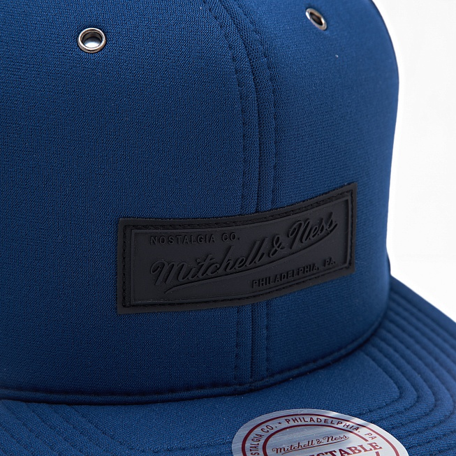 Снепбек Mitchell & Ness OWN BRAND Neoprene Navy - Фото 1
