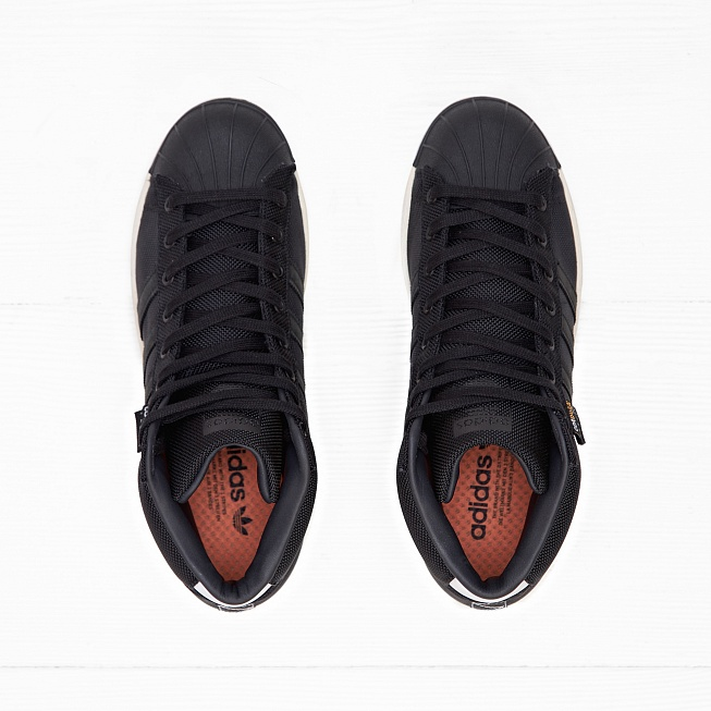Кроссовки Adidas PRO MODEL 80S CORDURA Ftwr White/Core Black/Unity Orange F16 - Фото 3