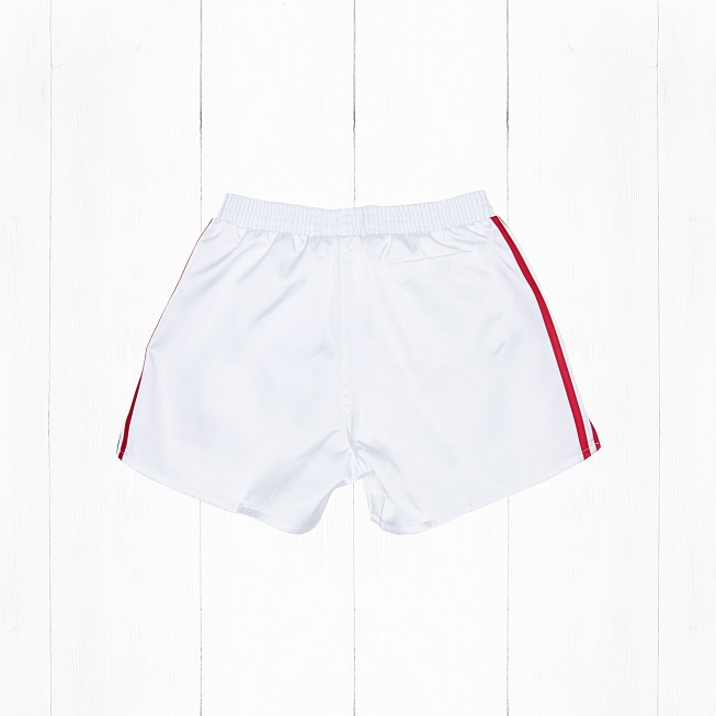 Шорты Adidas USSR White/Red - Фото 1