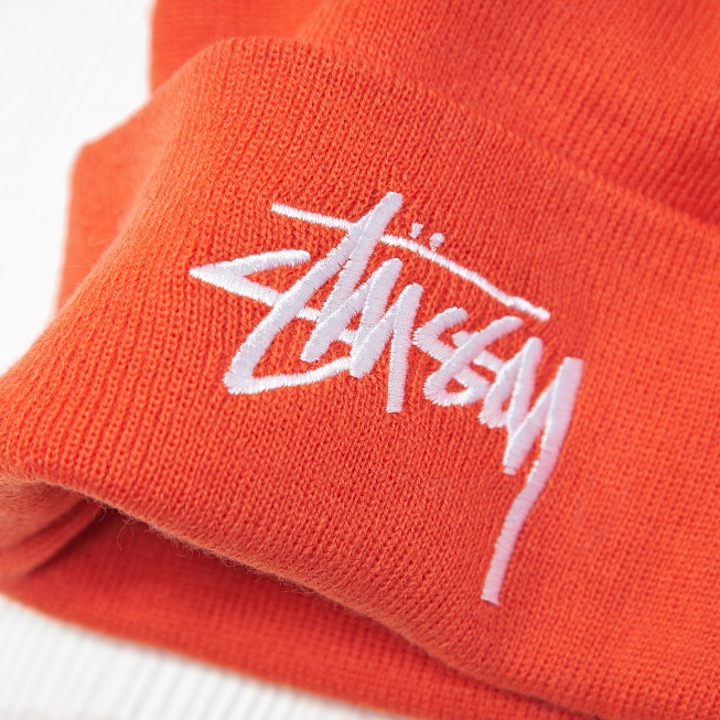 Шапка Stussy STOCK Orange - Фото 2