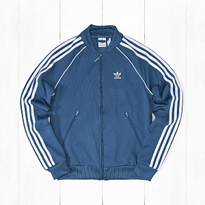 Олимпийка Adidas SST TRACK Dark Blue Steel