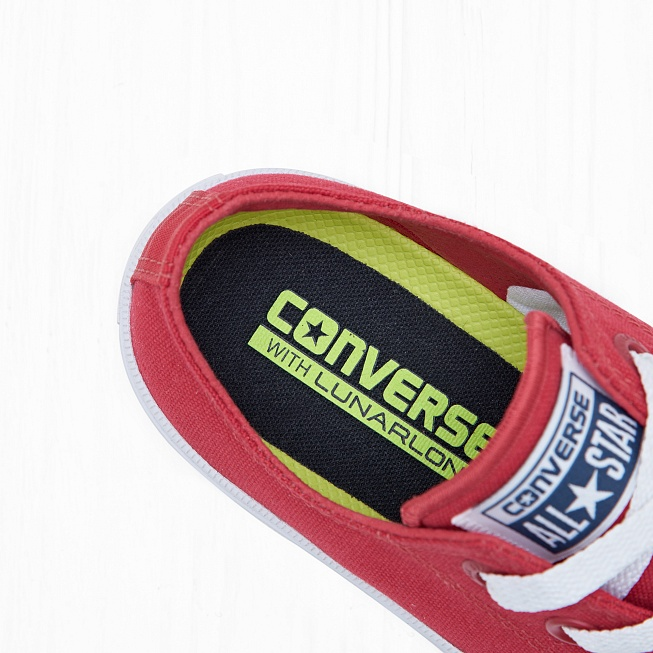 Кеды Converse CHUCK TAYLOR ALL STAR II LOW TOP Salsa Red/White - Фото 5