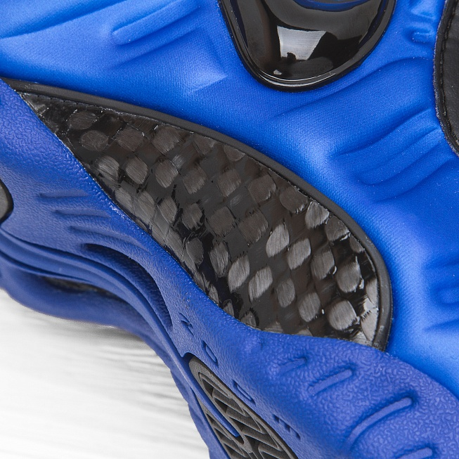 Кроссовки Nike AIR FOAMPOSITE PRO Hyper Cobalt/Black - Фото 5