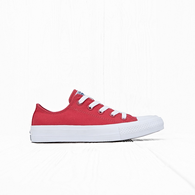 Кеды Converse CHUCK TAYLOR ALL STAR II LOW TOP Salsa Red/White