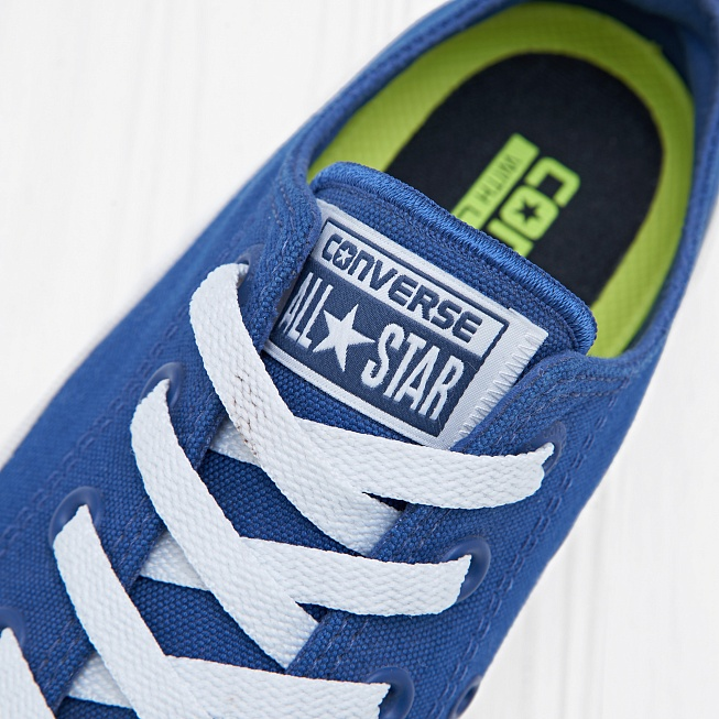 Кеды Converse CHUCK TAYLOR ALL STAR II LOW TOP Sodalite Blue - Фото 4