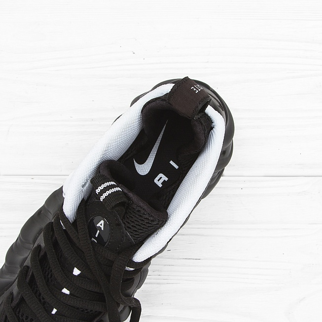 Кроссовки Nike AIR FOAMPOSITE PRO Black/White-Black - Фото 5