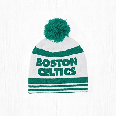 Шапка M&N NBA BOSTON CELTICS White/Green