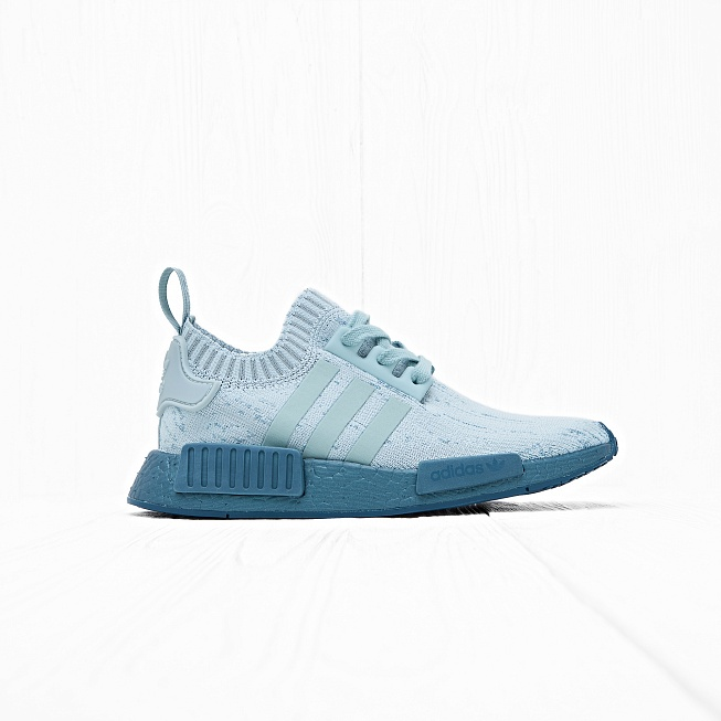 Кроссовки Adidas W NMD R1 PK Tactile Green/Blue Petrol