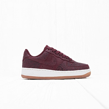 Кроссовки Nike W AIR FORCE 1 07 PRM ESS Night Maroon/Night Maroon-Sail
