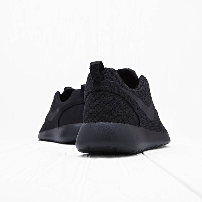 Кроссовки Nike ROSHE ONE Triple Black  - Фото 2