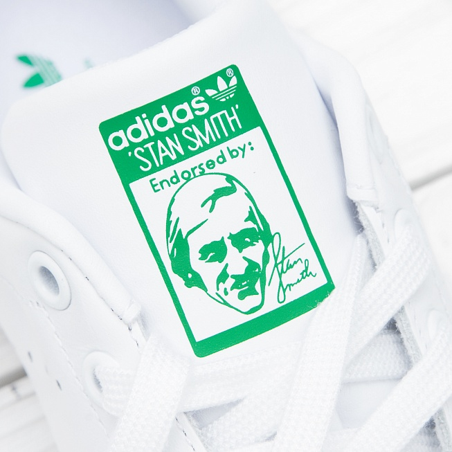 Кроссовки Adidas STAN SMITH Running White/Running White/Fairway - Фото 6