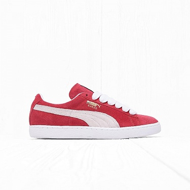Кроссовки Puma SUEDE CLASSIC+ Team-Regal Red/White